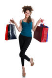 Summer shopping Royalty Free Stock Image