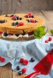 Summer shortcake. Stock Images