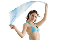 Summer shot with wind Royalty Free Stock Photos
