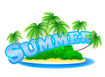 Summer sign Royalty Free Stock Photos