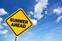 Summer sign Stock Photos