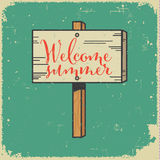 Summer sign Royalty Free Stock Image