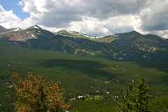 Summer Ski Area Royalty Free Stock Images