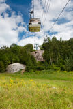 Summer ski lift Royalty Free Stock Photos