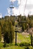 Summer Ski Lift II Royalty Free Stock Photography