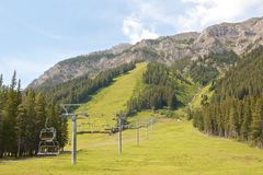 Summer Ski Resort Stock Images