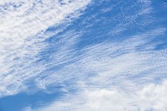 Summer Skies. Britain is experiencing a prolonged summer and beautiful skies, high heat and in some areas - drought. Over head the endless blue make the heart royalty free stock photos