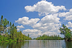 Summer Skies in Canoe Country Stock Photos