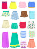 Summer skirts Royalty Free Stock Photo