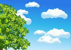 Summer sky Royalty Free Stock Photography