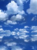 Summer sky Stock Images