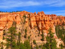 Summer sky above Bryce Canyon Royalty Free Stock Photos