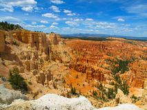Summer sky above Bryce Canyon Royalty Free Stock Image