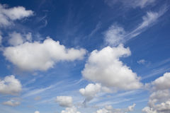 Summer sky background Royalty Free Stock Photography