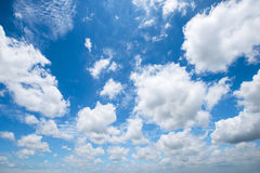 Summer sky with cloud Royalty Free Stock Photo