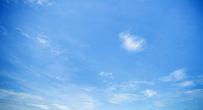Summer sky with cloud Stock Images