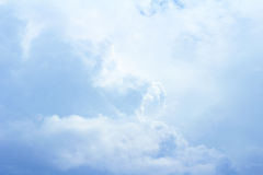 Summer sky and clouds Stock Photography
