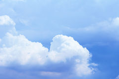 Summer sky and clouds Stock Photo