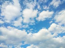 Summer sky in Luxembourg, Europe Stock Photography
