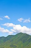 Summer sky and mountain Stock Photos