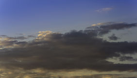 Cloud. Summer sky with storm clouds royalty free stock image