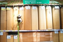 Summer sleeping mat Stock Photo