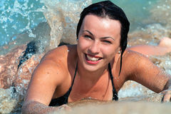 Summer Smile Stock Images