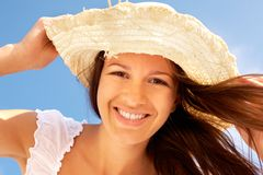Summer smile Royalty Free Stock Photography