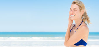 Summer smiling beauty Royalty Free Stock Photo