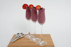 Summer smoothie drink Stock Images