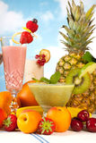 Summer smoothie party Royalty Free Stock Photography