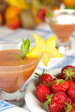 Summer smoothies Royalty Free Stock Images