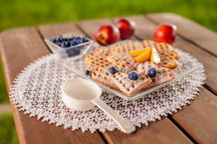 Summer snacks Royalty Free Stock Photography