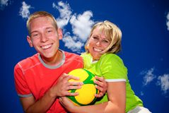 Summer soccer Stock Photography