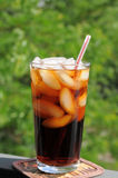 Summer soft drink   Stock Image