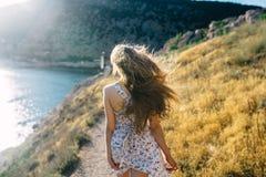 Summer solar vacation. In the Crimea Stock Photo