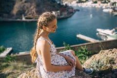 Summer solar vacation. In the Crimea Royalty Free Stock Photos