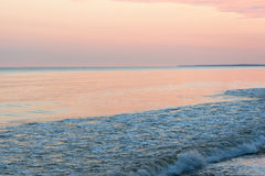 Summer solstice morning by baltic sea. Royalty Free Stock Images