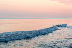 Summer solstice morning by baltic sea. Royalty Free Stock Photos