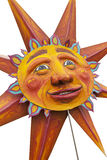 Summer Solstice Sun Prop. A great golden sun is emblematic of the 2011 Annual Fremont Summer Solstice Day Parade. The parade celebrates the summer solstice and Stock Photos