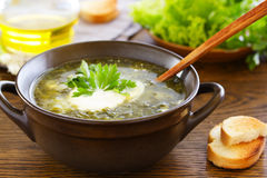 Summer soup Stock Image