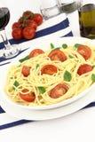 Summer spaghetti Royalty Free Stock Photo