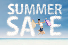 Summer special sale concept