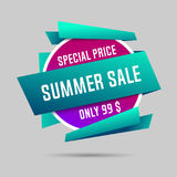 Summer specials sale banner, summer special offer. Summer specials sale banner, summer special offer, big sale. Vector illustration Royalty Free Stock Image