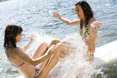 Summer splash Royalty Free Stock Photos