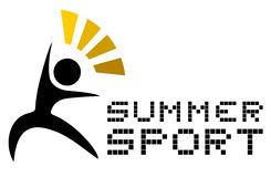 Summer sport Royalty Free Stock Photography