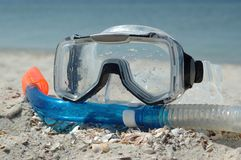 Summer sport - snorkeling Stock Photo