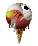Summer Sports stock illustration