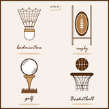 The Summer Sports Royalty Free Stock Images