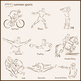 The Summer Sports Stock Image